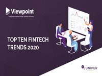 Top Ten Fintech Trends 2020