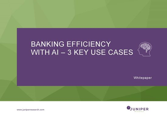 Banking Efficiency with AI - 3 Key Use Case Cover