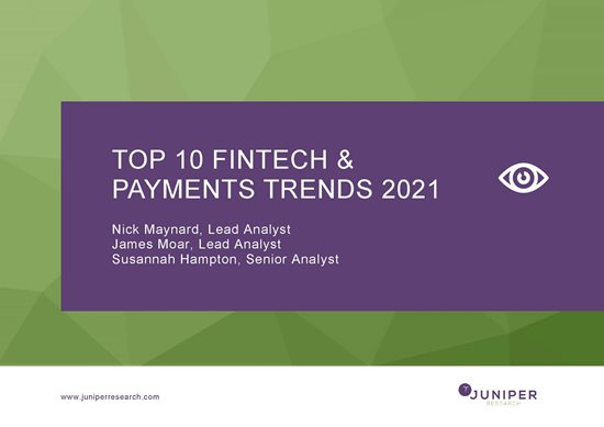 Top 10 Fintech Trends 2021 report cover