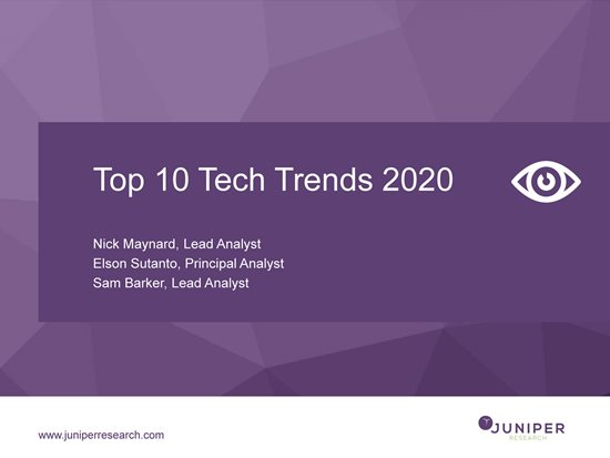 Top Ten Tech Trends 2020 Webinar Slides