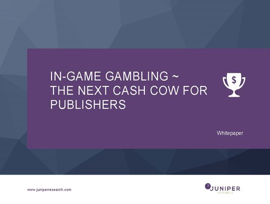 In-Game Gambling ~ The Next Cash Cow for Publishers Cover Page