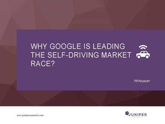Why Google is Leading the Self-Driving Market Race? Cover Page