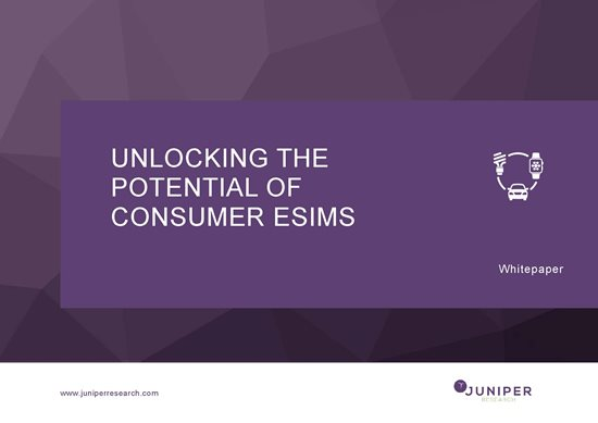 Unlocking the Potential of Consumer eSIMs Whitepaper Cover