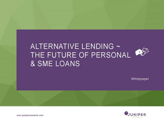 Alternative Lending ~ The Future of Personal and SME Loans Cover Page