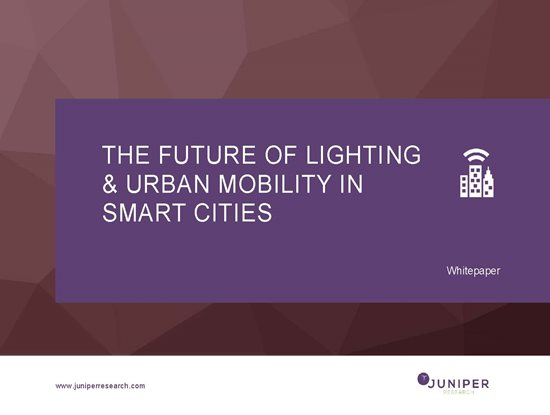 The Future of Lighting & Urban Mobility in Smart Cities Cover Page