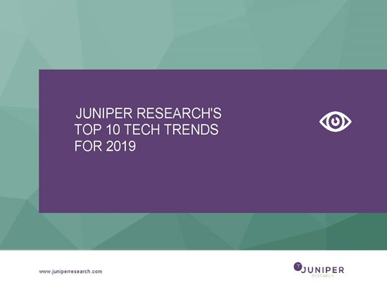 Top 10 Tech Trends for 2019 - Whitepaper Cover Page