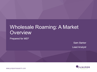 MEF Connects Wholesale Roaming Briefing