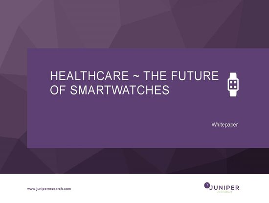 Healthcare ~ The Future of Smartwatches Cover Page