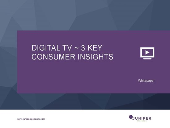 Digital TV ~ 3 Key Consumer Insights Cover Page