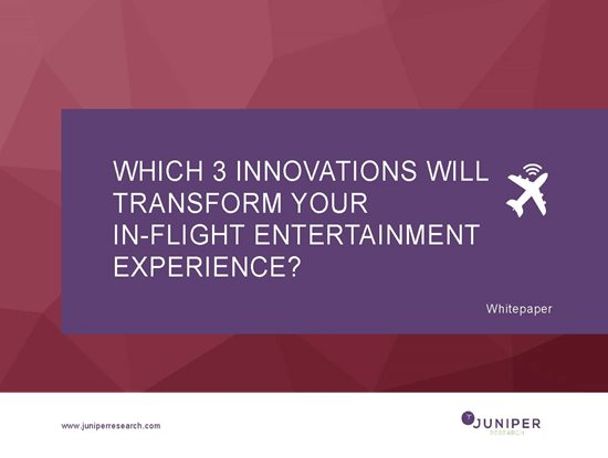 Which 3 Innovations will Transform Your In-flight Entertainment Experience? Cover Page