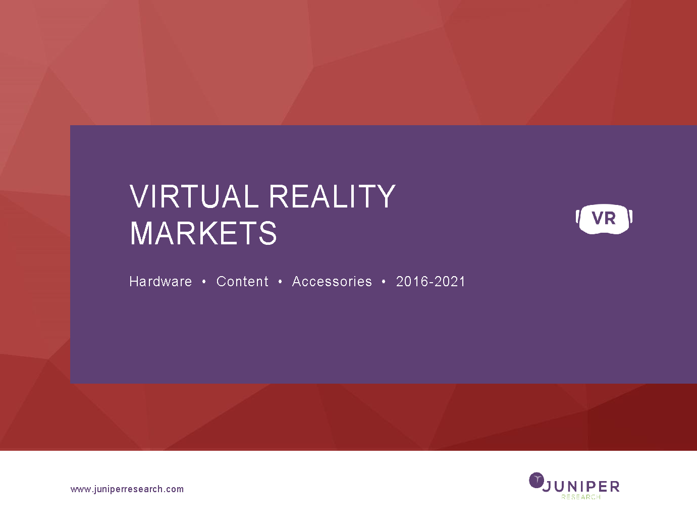 Virtual Reality Markets