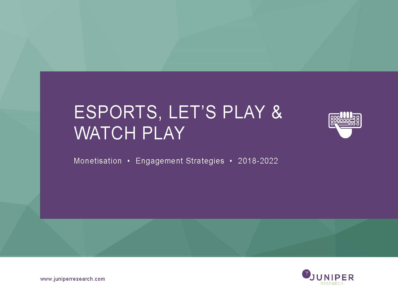 eSports, Let's Play & Watch Play