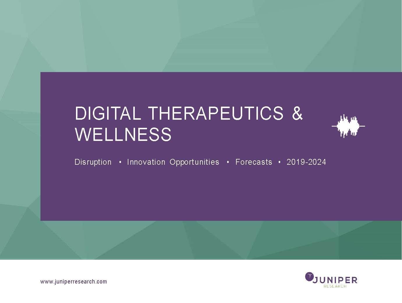 Digital Therapeutics & Wellness Research Report | Innovation