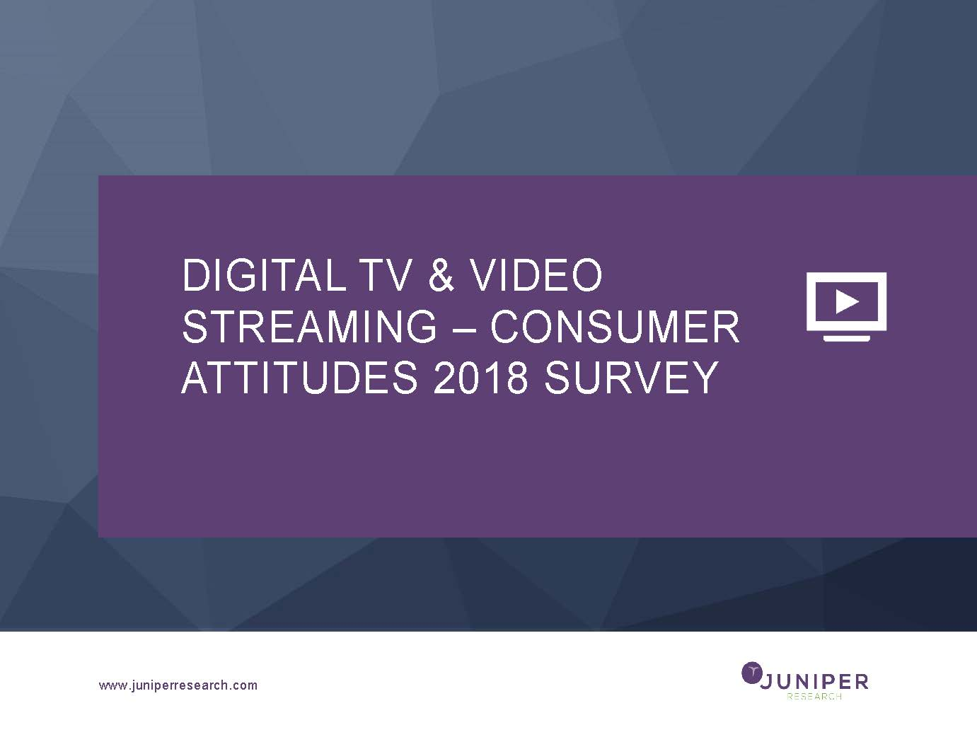 Digital TV & Video Streaming Survey