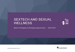 Sextech & Sexual Wellness