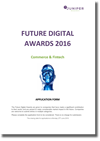 Future digital awards 2016 commerce and fintech