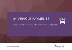In-vehicle Payments