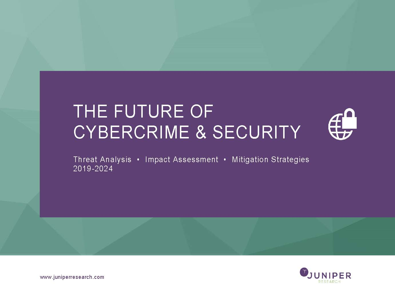 The Future of Cybercrime & Security