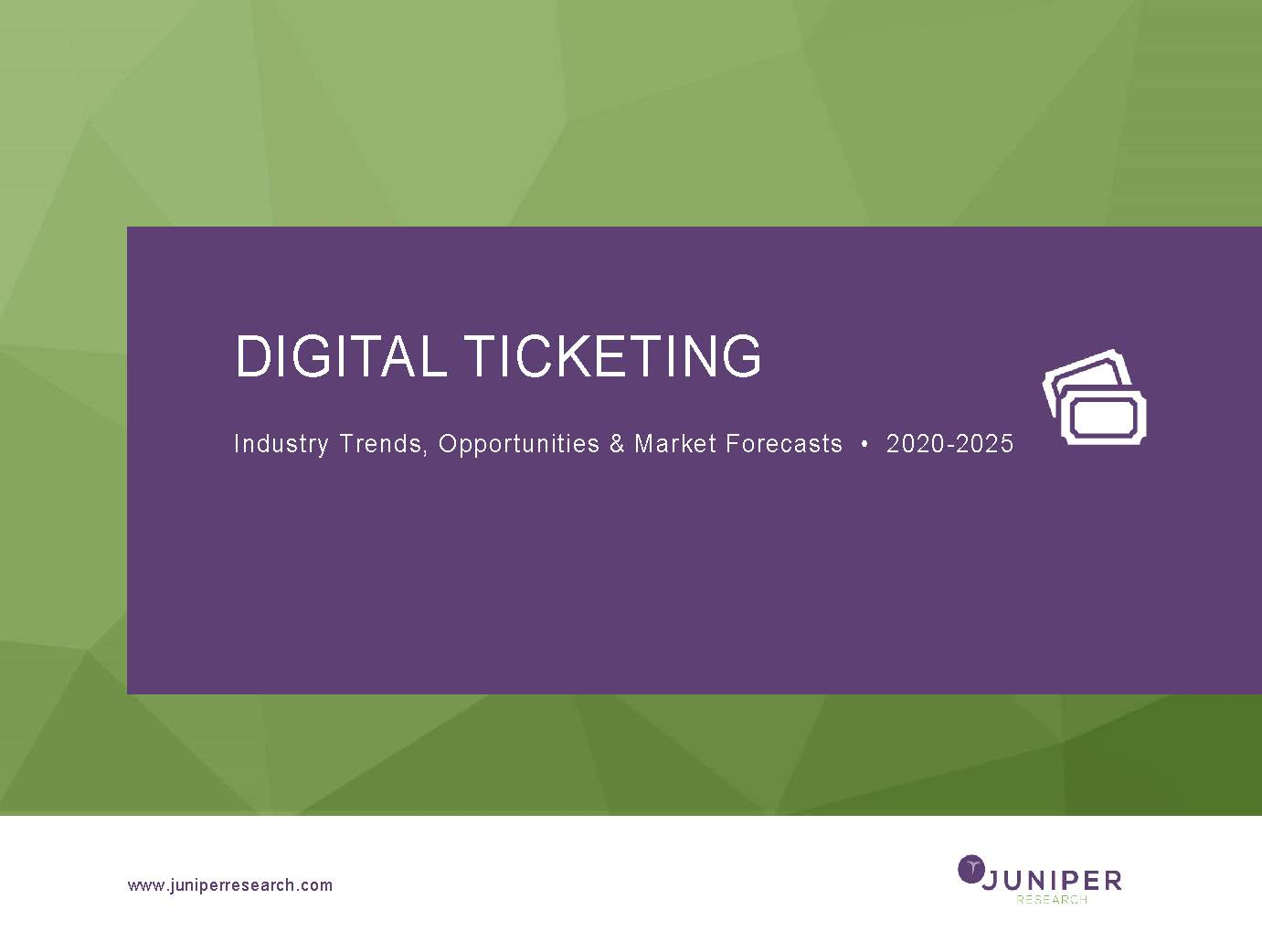 Digital Ticketing