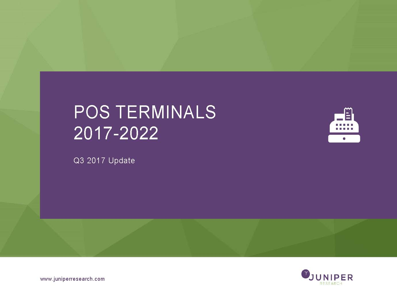 POS and mPOS Terminals - Q3 2017
