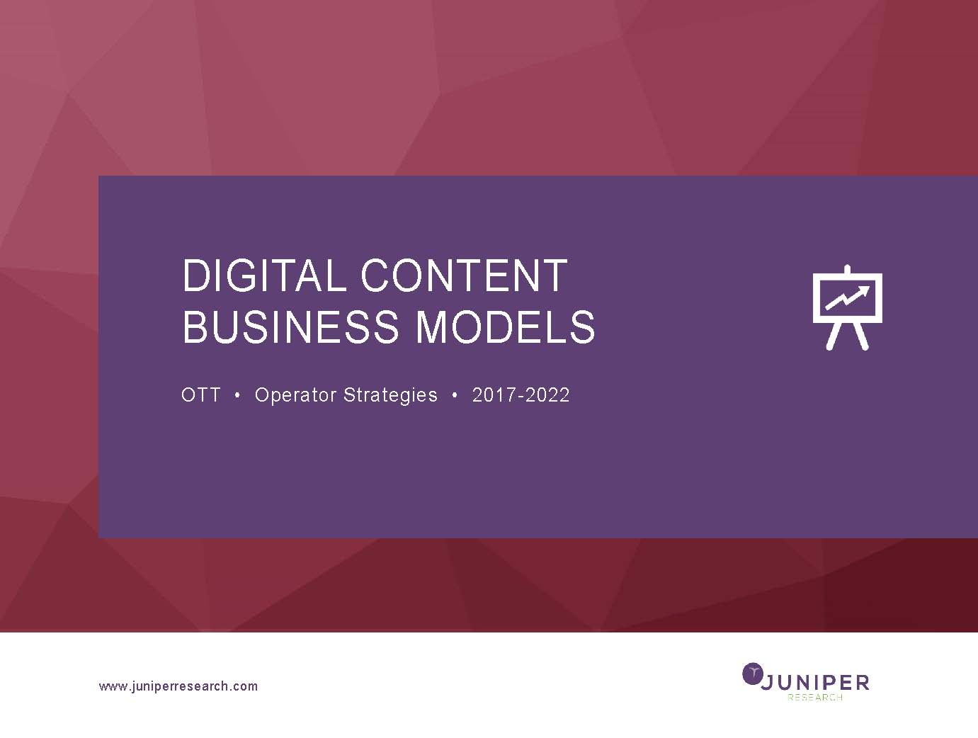 Digital Content Business Models: OTT & Operator Strategies 2017-2022