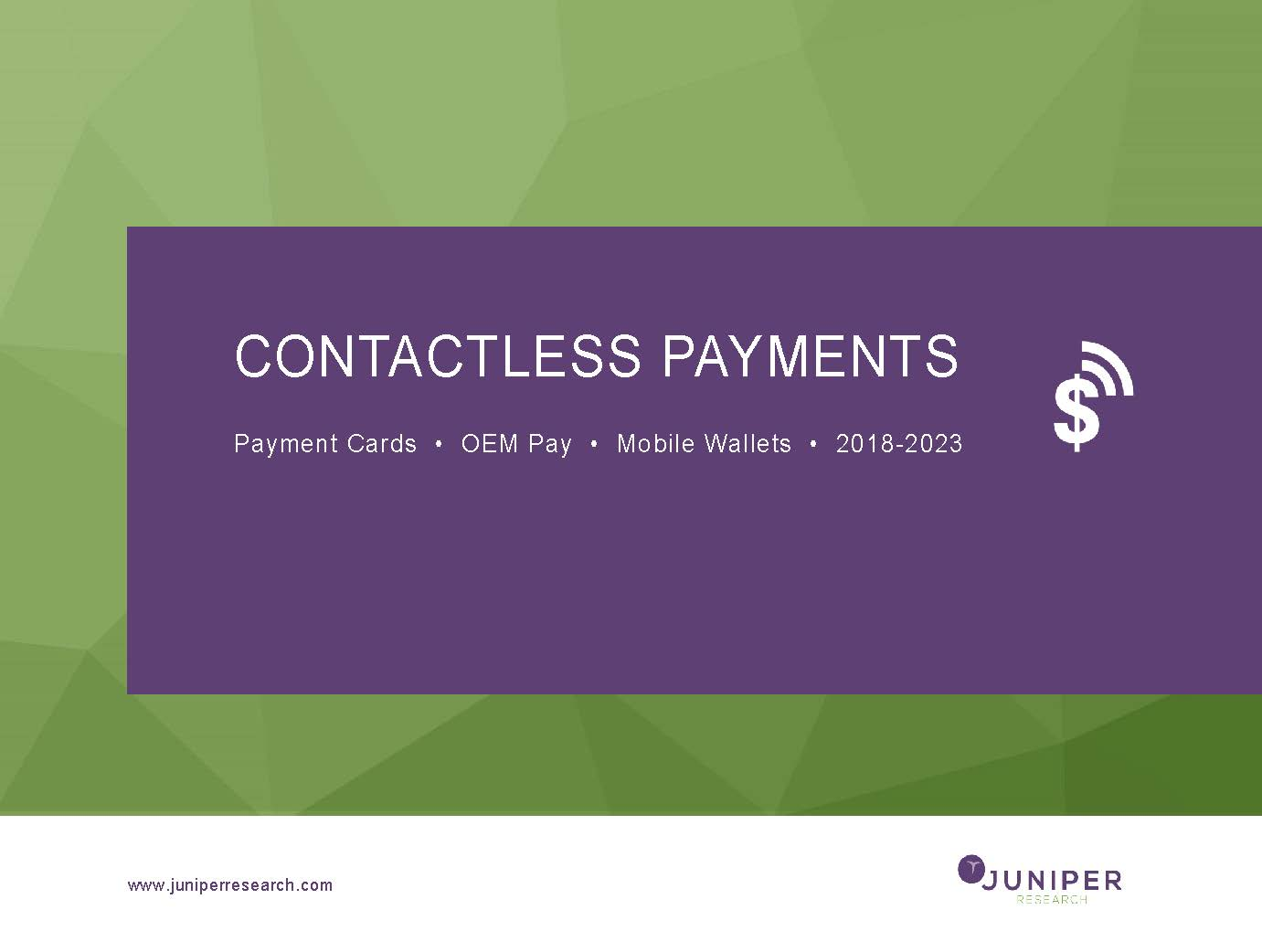 Contactless Payments - Full Research Suite
