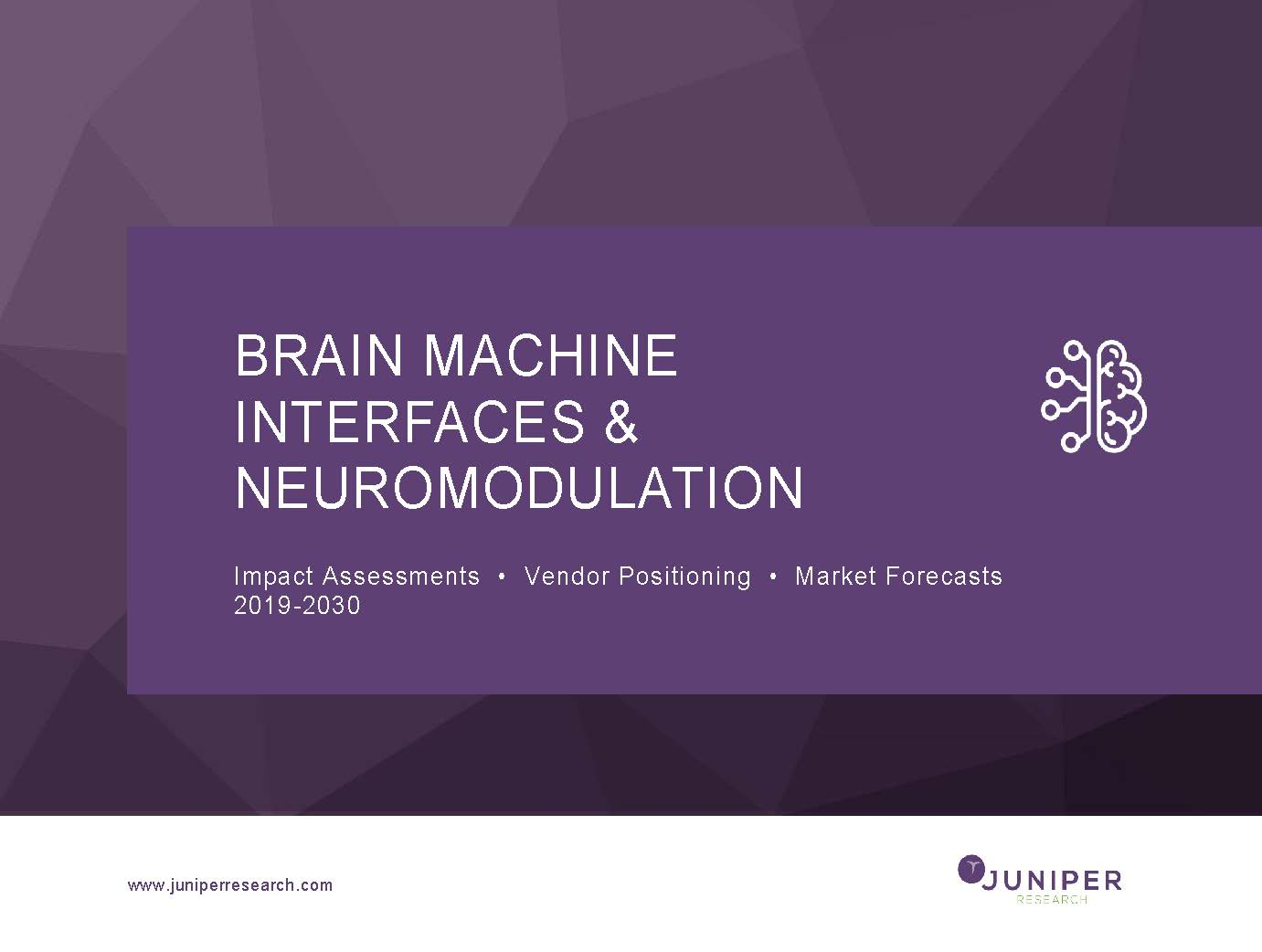 Brain Machine Interfaces & Neuromodulation: Impact Assessments, Vendor Positioning & Market Forecasts 2019-2030