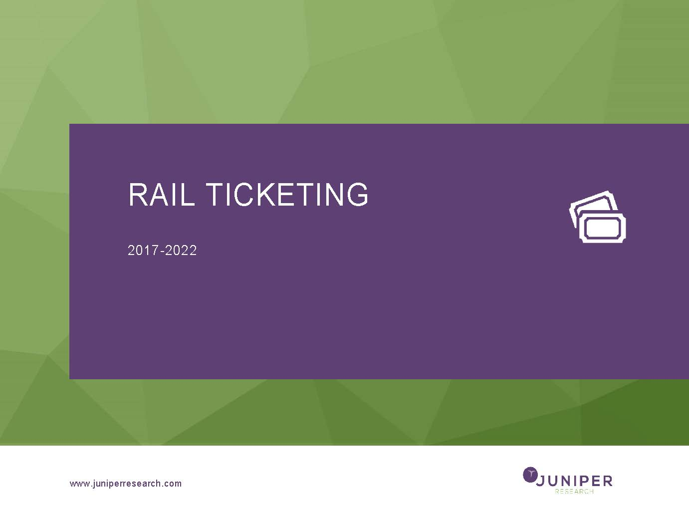 Rail Ticketing 2017-2022