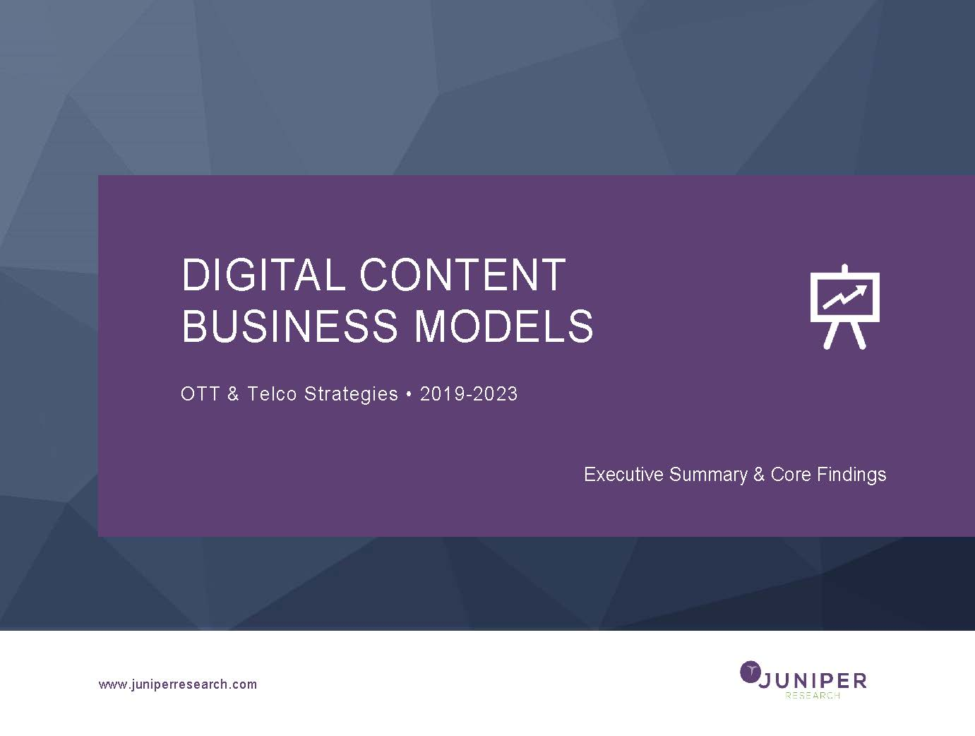 Digital Content Business Models - Executive Summary 2019-2023