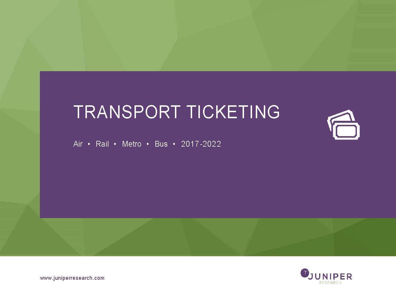 Transport Ticketing 2017-2022