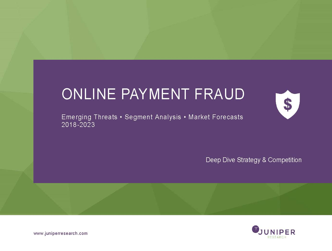 Online Payment Fraud: Deep Dive Strategy & Competition 2018-2023