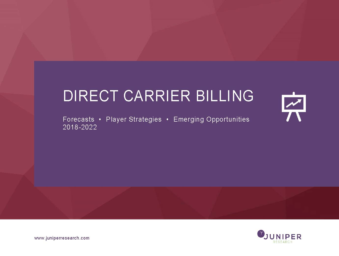 Direct Carrier Billing - Deep Dive Strategy & Competition 2018-2022