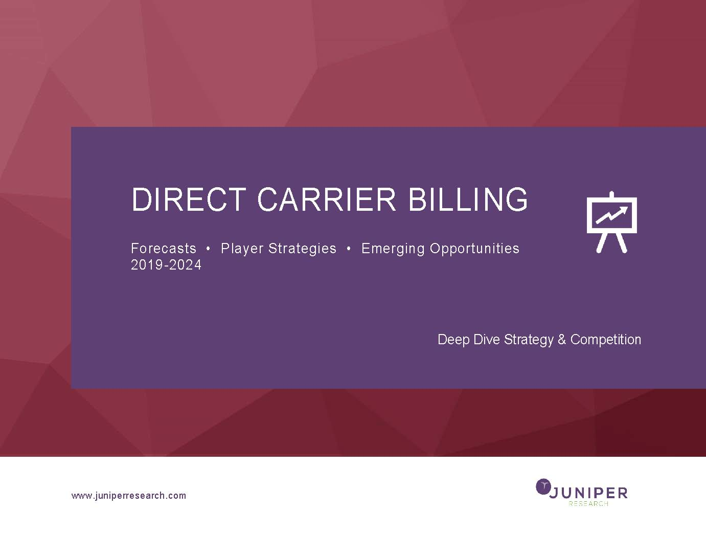 Direct Carrier Billing - Deep Dive Strategy & Competition 2019-2024