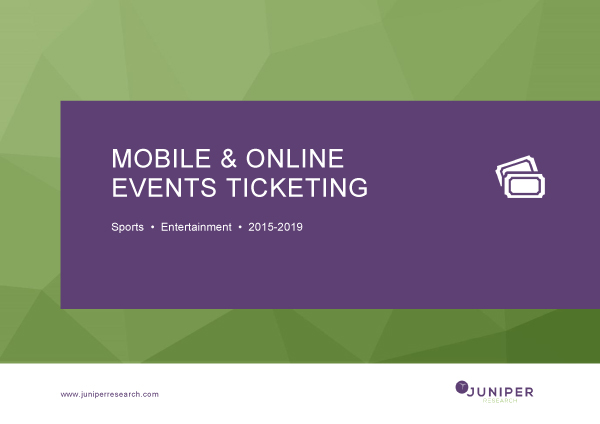 Mobile & Online Ticketing: Deep Dive Data & Forecasting 2017-2022