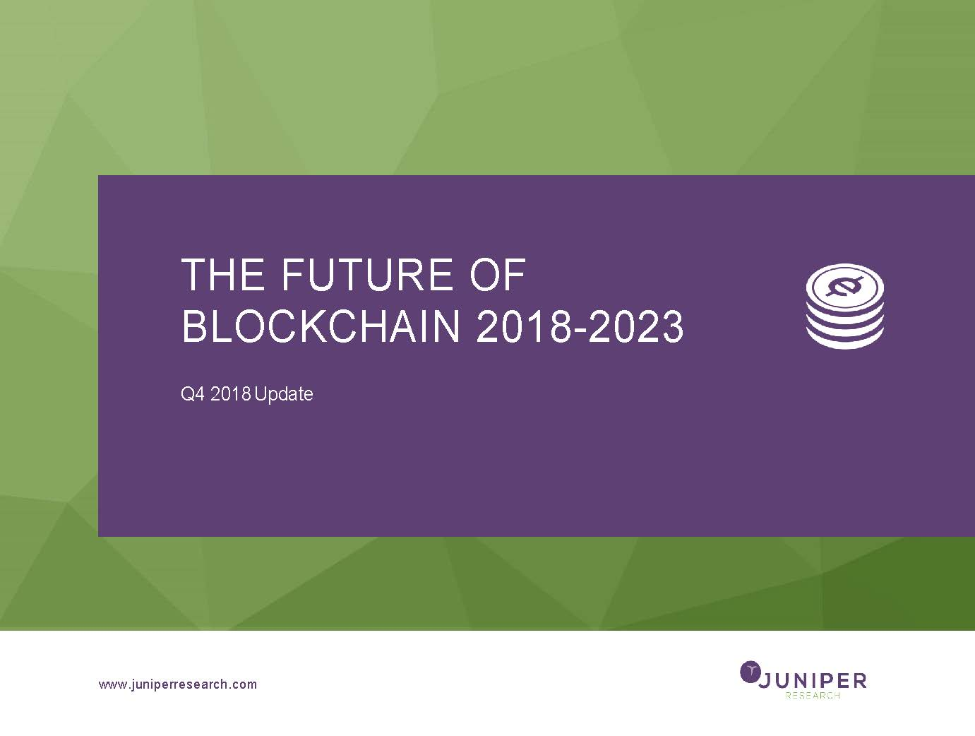 The Future of Blockchain - Q4 2018