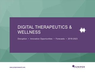 Digital Therapeutics & Wellness: Disruption, Innovation Opportunities & Forecasts 2018-2023 Full Research Suite