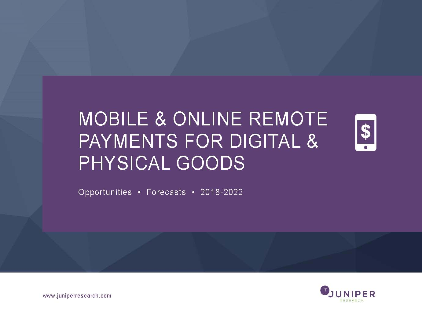 Mobile & Online Purchases - Full Research Suite